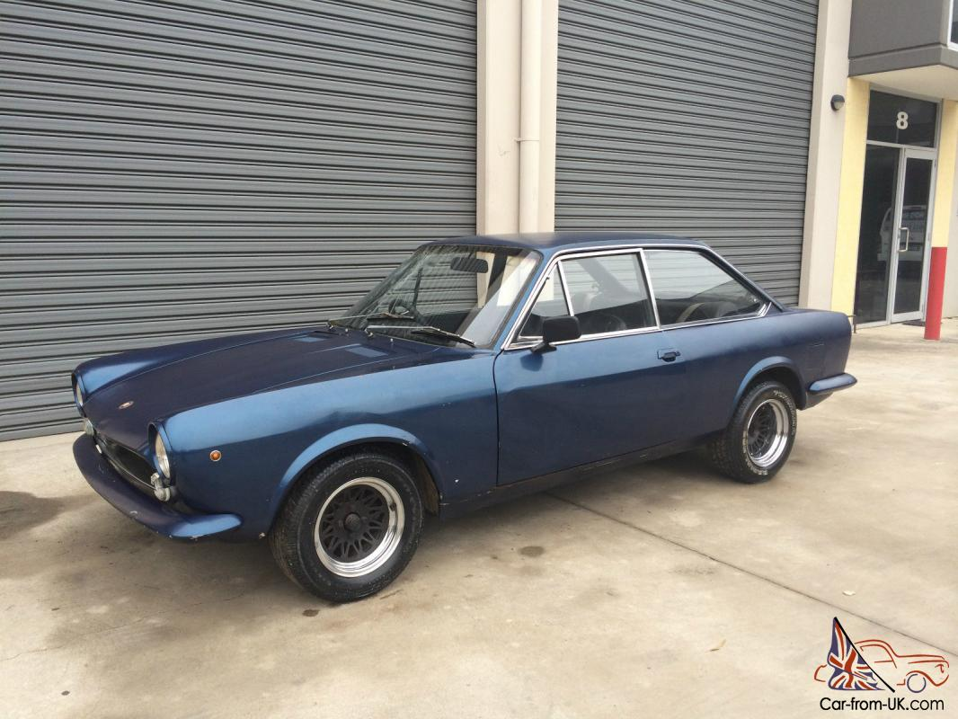 Fiat 124 Sport Coupe 1 8l 1969 Barn Find In Minto Nsw