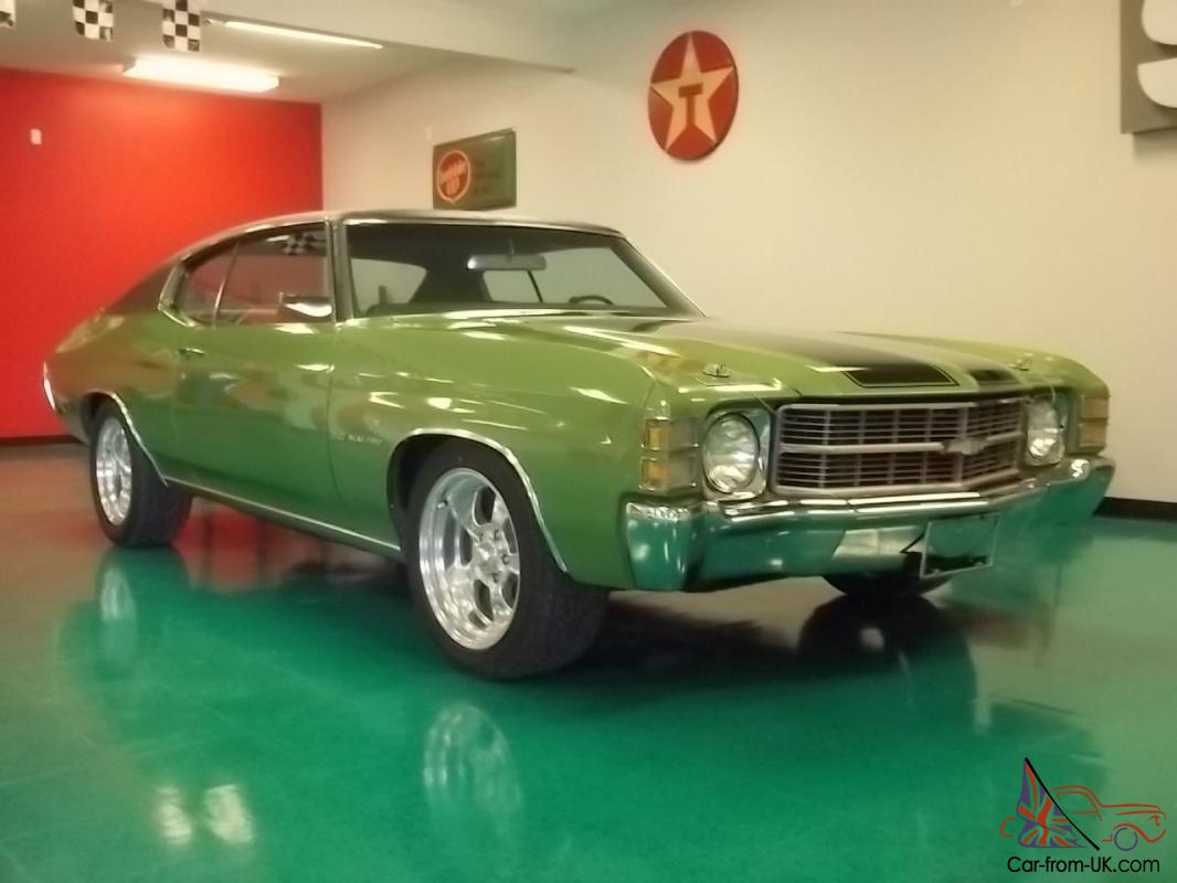CHEVY CHEVELLE 70K ORIGINAL MILES.... PERFECT