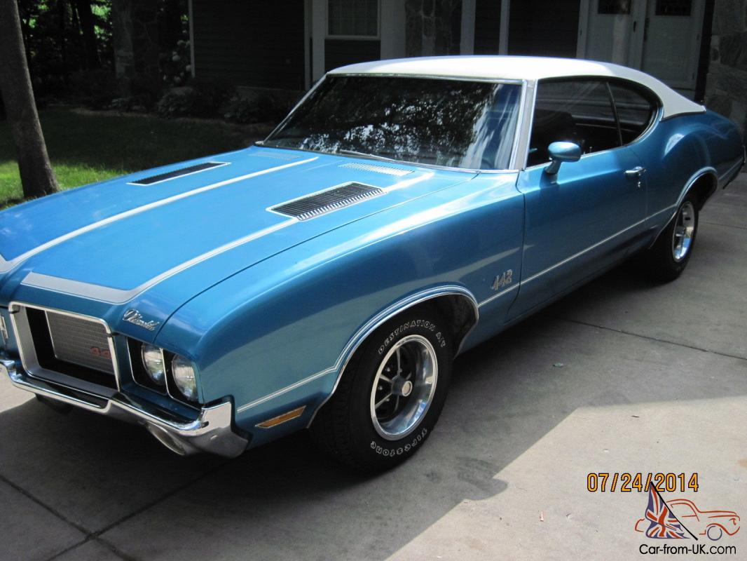 cutlass, 442, hard top, oldsmobile, 2dr