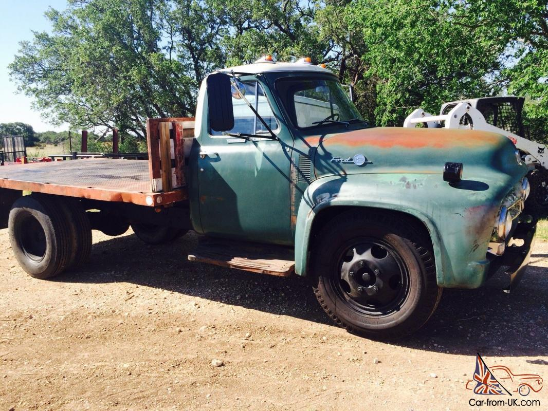 1955 FORD F600.RUNS AND DRIVES GREAT! OVER 25K INVESTED Wiring Diagram For Ford F on
