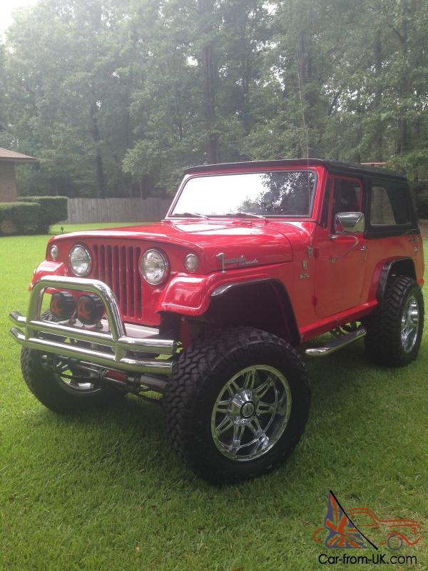 Jeep Commando For Sale >> Jeep Jeepster Commando 1969 Red