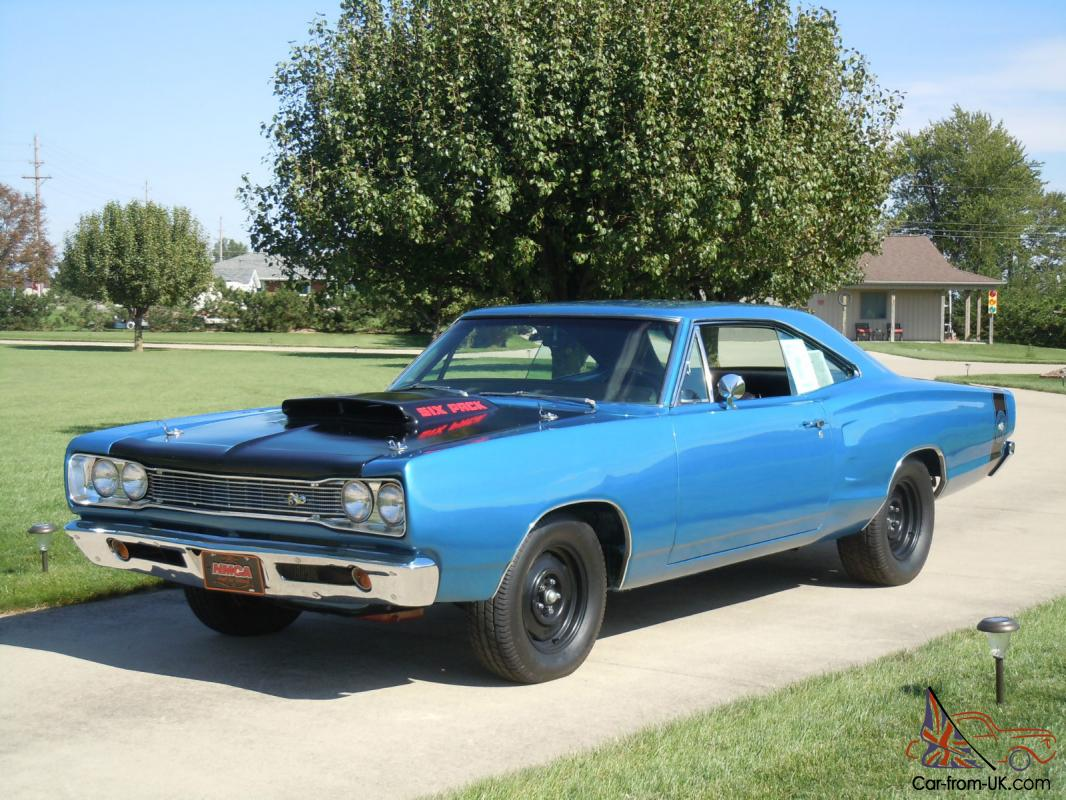 1969 Dodge Super Bee A-12 Performance/Concurs reproduction