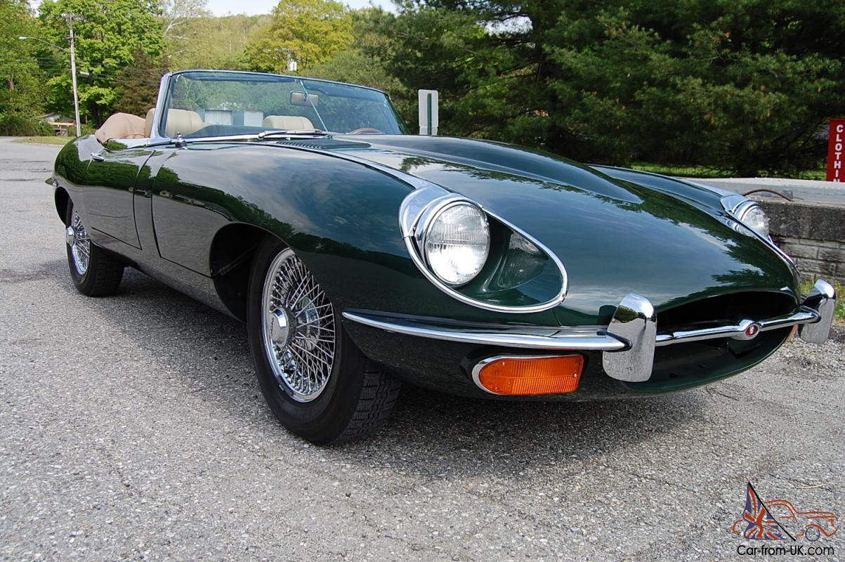 1969 jaguar xke roadster beautiful restoration british racing green with tan 1969 jaguar xke roadster beautiful