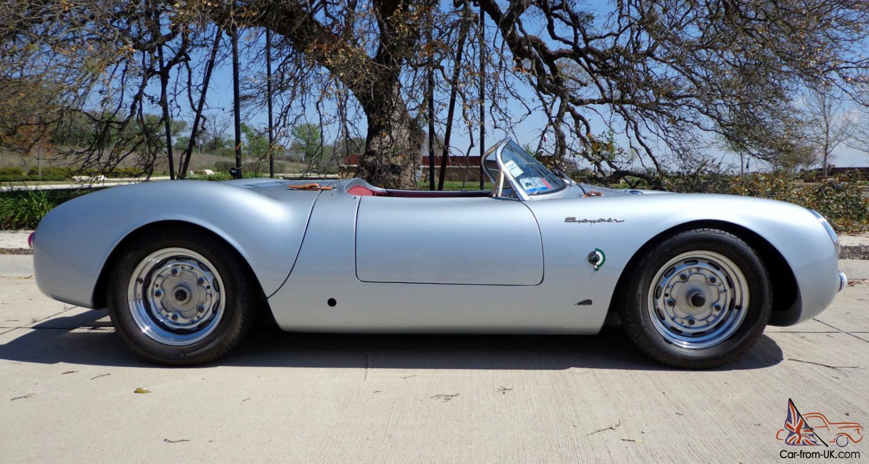 1955 Porsche Replicaspyder 550