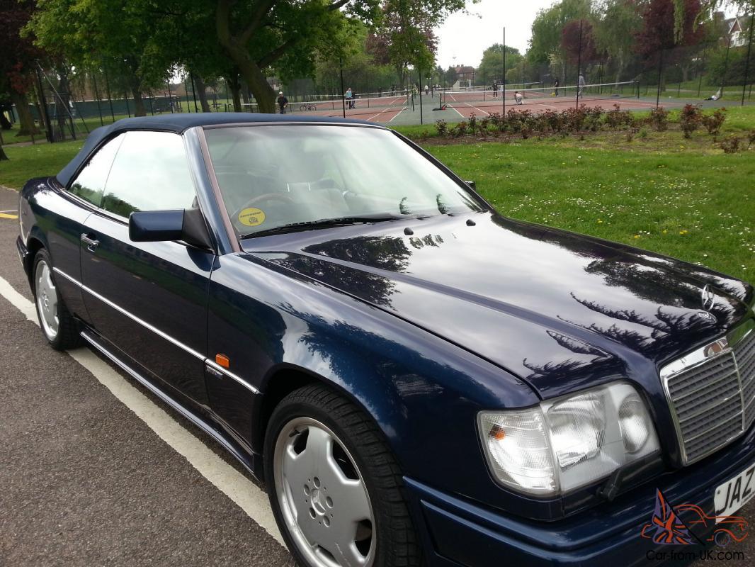 1996 MERCEDES E320 AUTO BLUE AMG BODYKIT 5 SPEED AUTO