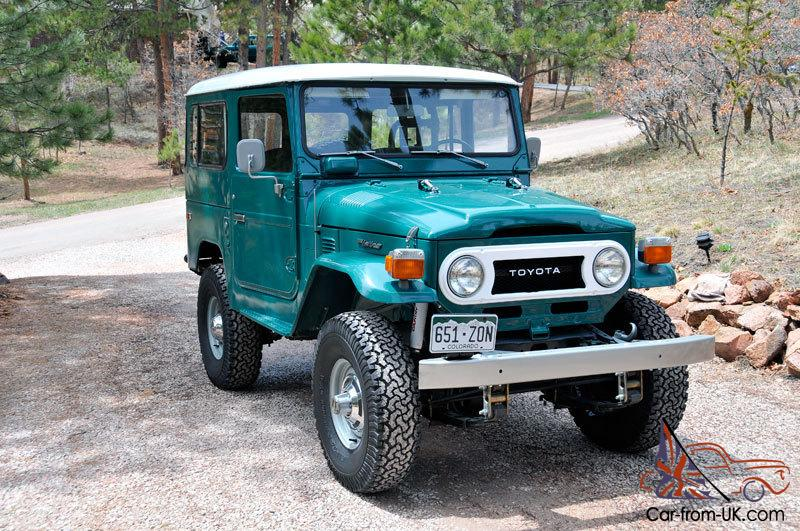 1977 Toyota Land Cruiser FJ40 - Like New!