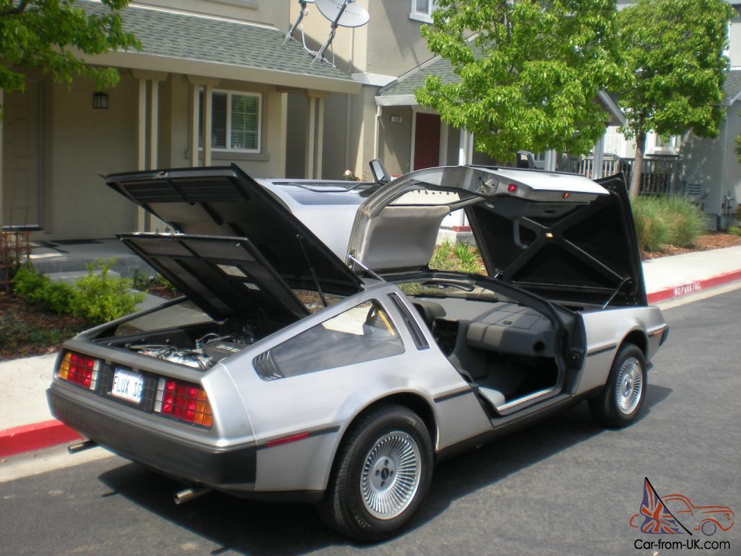 Delorean Car For Sale >> Delorean Dmc 12 1981 Low Miles