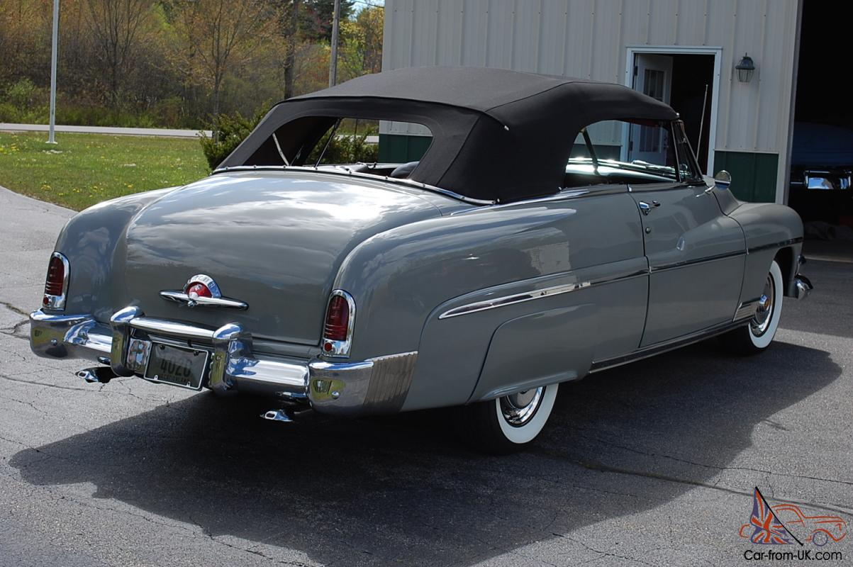 Classy 1951 Mercury Convertible