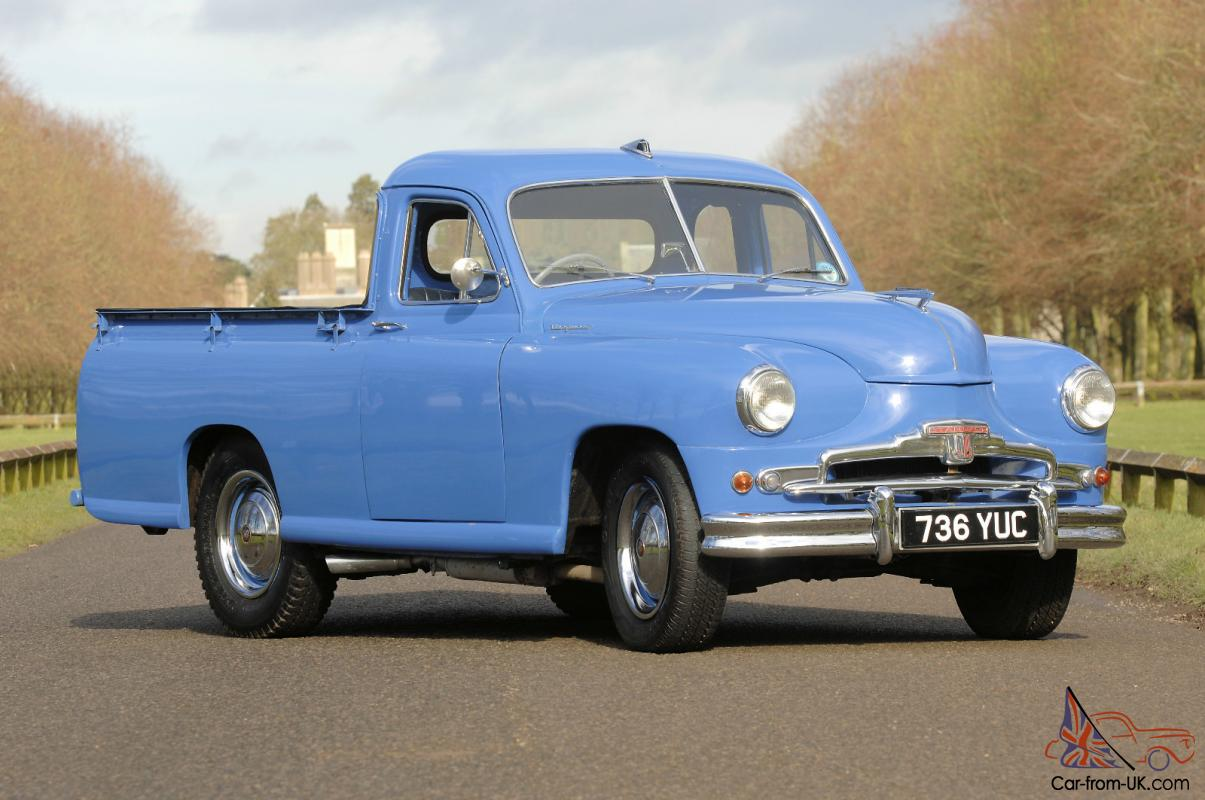 1953 STANDARD vangaurd pick-up extremely rare factory built1950s Cars For Sale Ebay