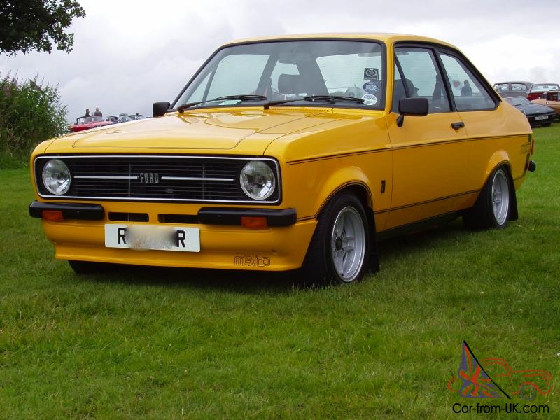 Ford Escort Mk2 Rs Mexico With 2 1 Pinto Concours Potential