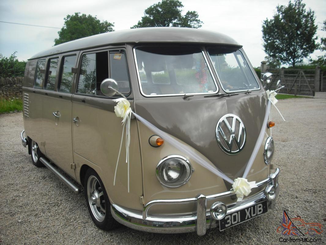 VW SPLIT SCREEN CAMPER 1961, LHD CALIFORNIA IMPORT