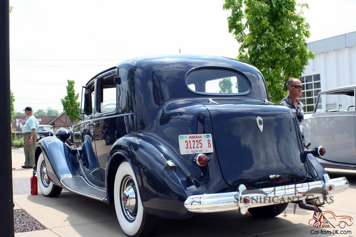1937 Packard Super 8 Club Sedan - Great Tour Car! Award Winning!