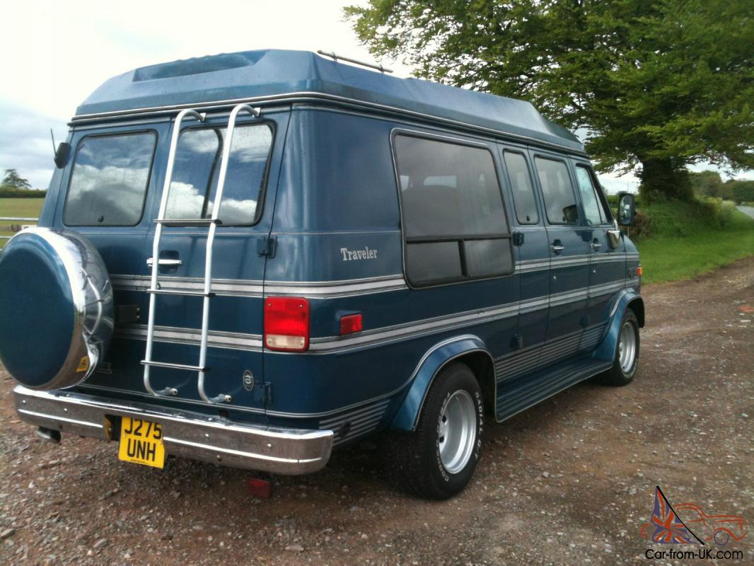 All Chevy 89 chevy van : 1992 Chevrolet G20 Day Van LPG Camper