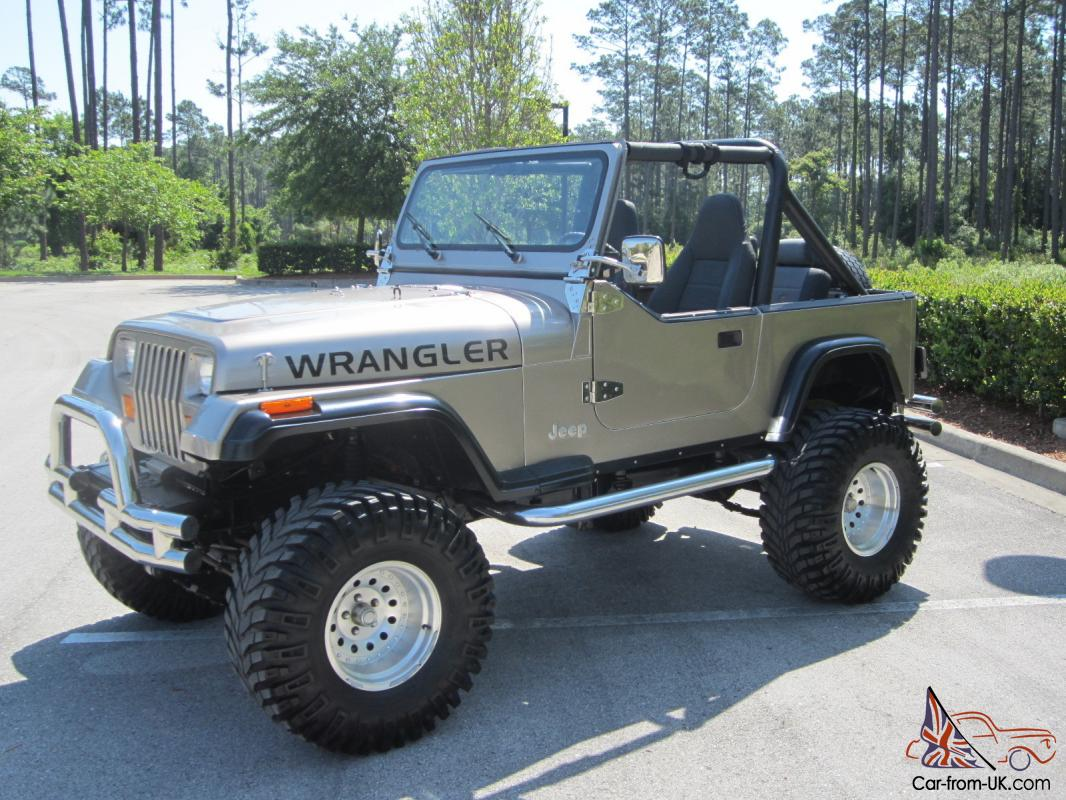 Awesome V8 Jeep Wrangler Lifted Super Nice Jeep W All The Goodies