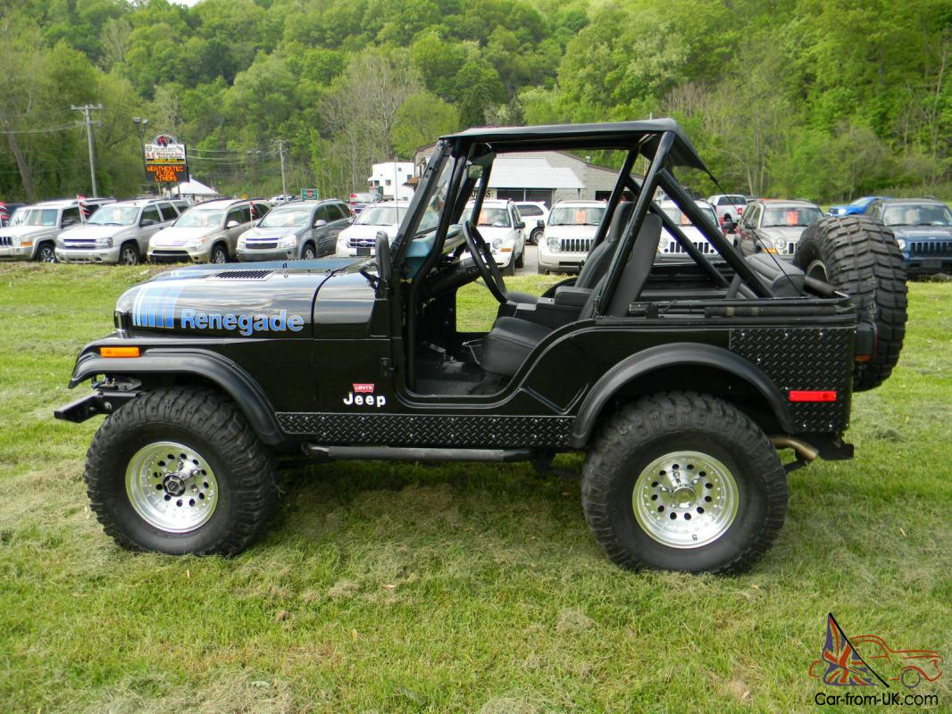 1980 Jeep Cj 5 Renegade Levis Edition Old For Sale