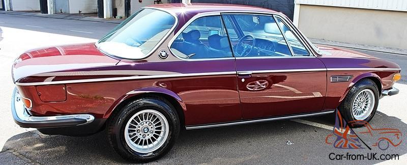 Bmw 3.0 Cs For Sale >> Fully Restored 1975 Lhd Bmw E9 3 0 Csi