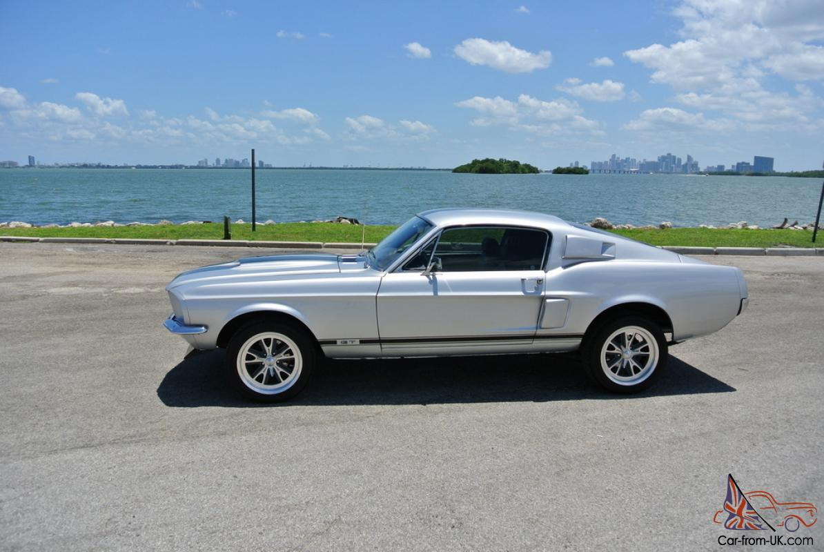 1967 mustang fastback gt s code 390 factory