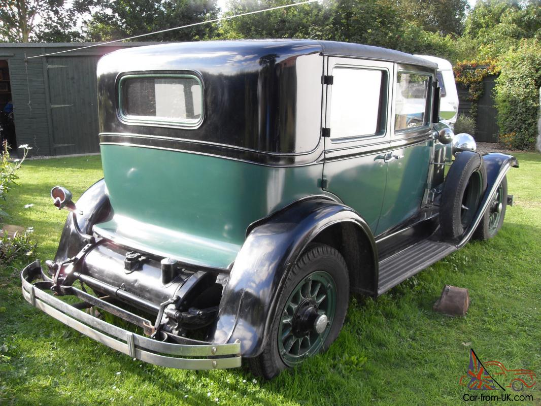 1927 Cadillac LaSalle 5 Passenger Sedan La Salle
