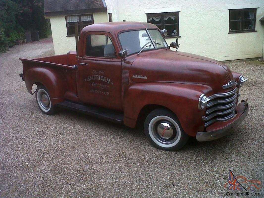 1951 Chevrolet 3100 Pick Up