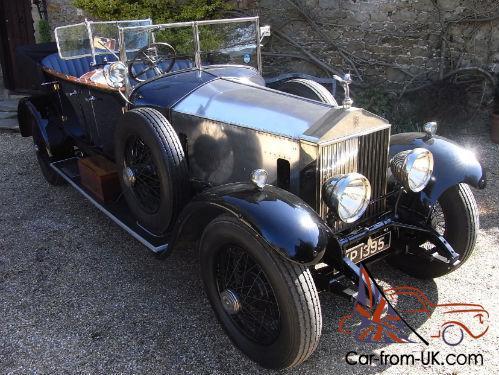 1926 rolls royce phantom 1 tourer car from uk com
