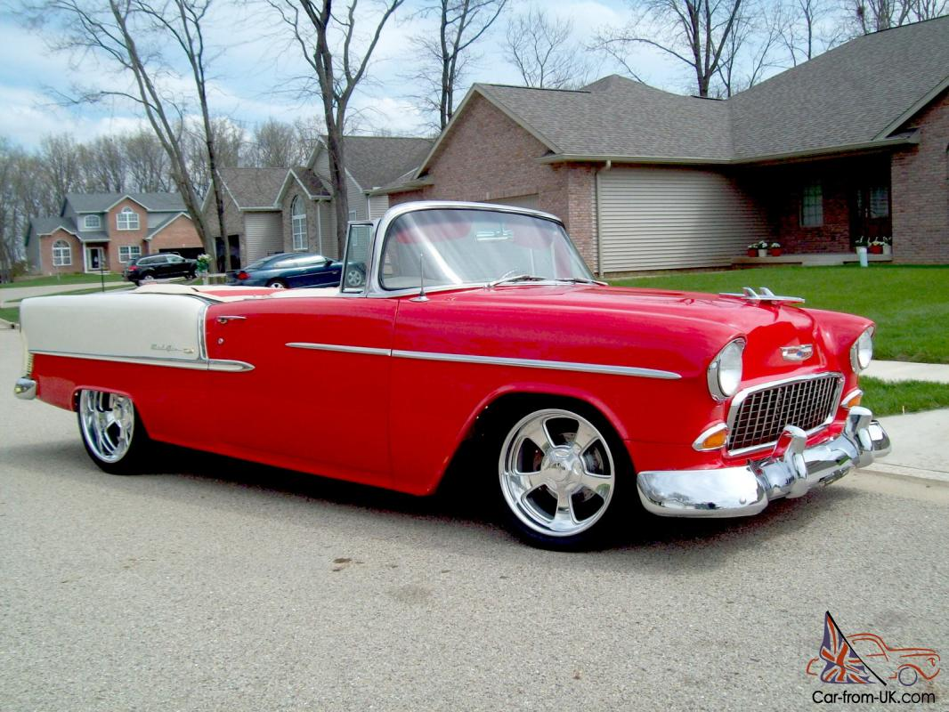 1955 convertible bel air chevrolet chevy based
