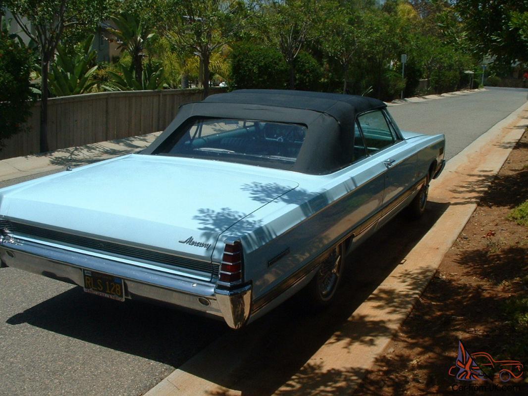 1966 Mercury Parklane Convertible