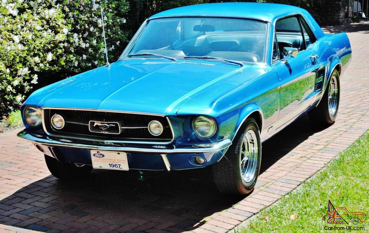 1967 Ford Mustang Coupe Blue 1967 Ford Mustang for sale 21704781967