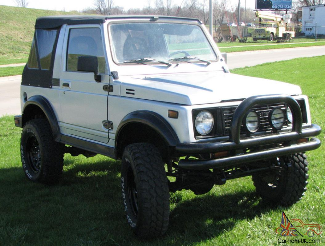 1987 Suzuki Samurai 4x4 Reconditioned Rust Free Suv Lifted 1970 Nova Engine Wiring Diagram