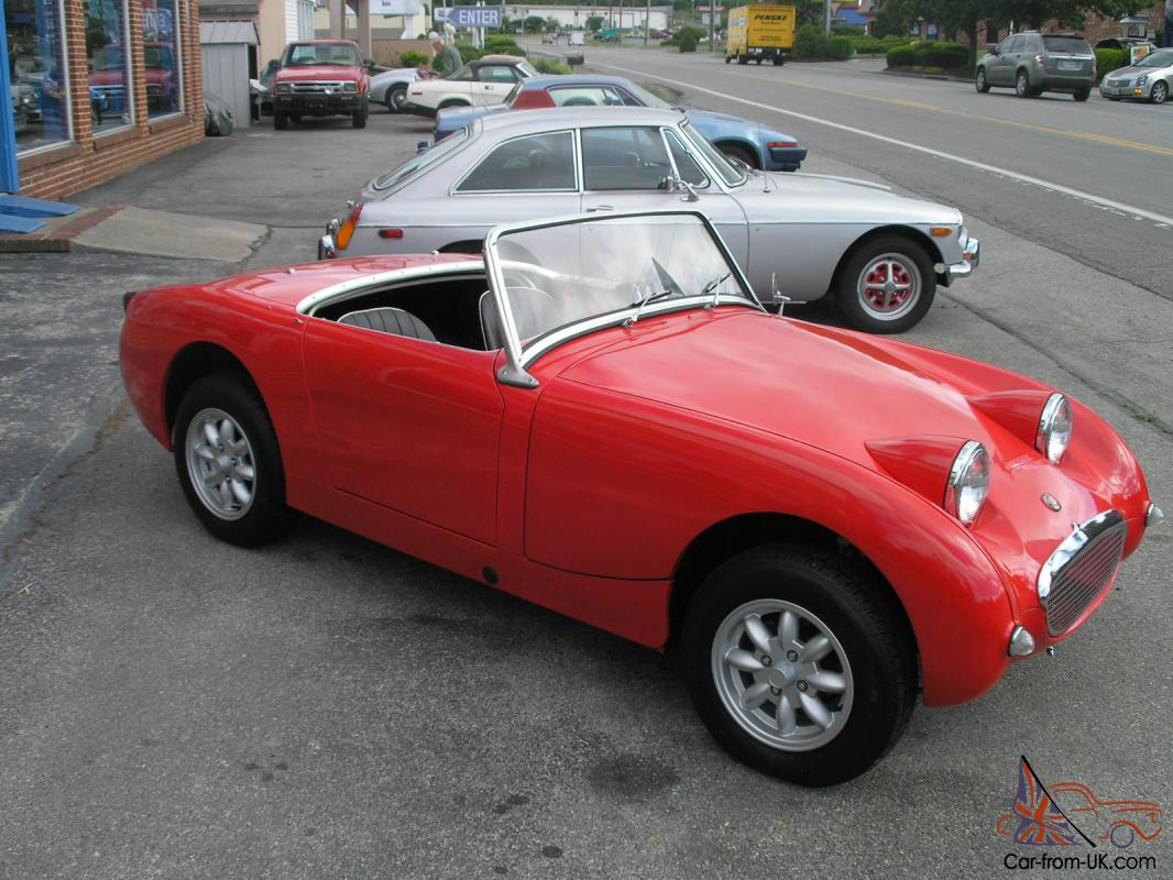 Car Dealerships In Roanoke Va >> 1959 Austin-Healey Bugeye Sprite