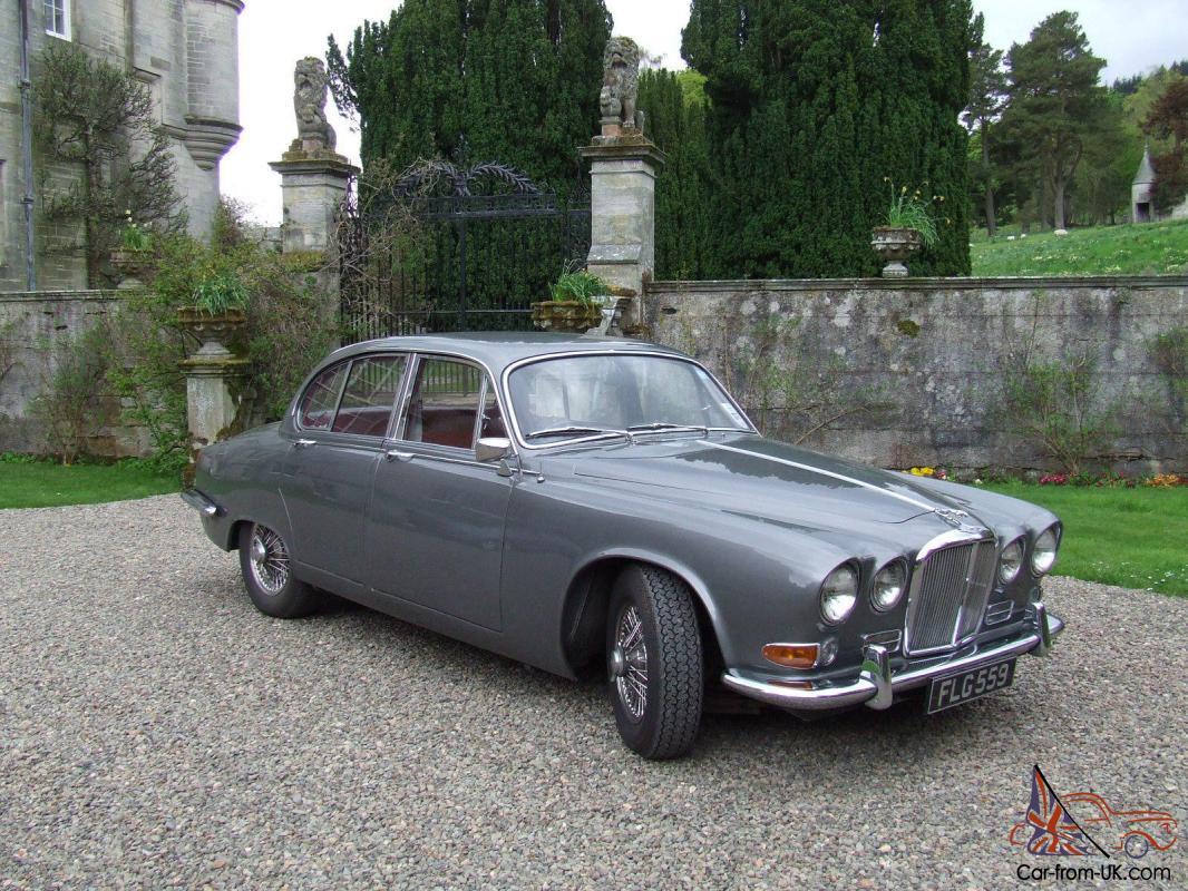 Jaguar 420 1968 FLG 559 Tax Exempt