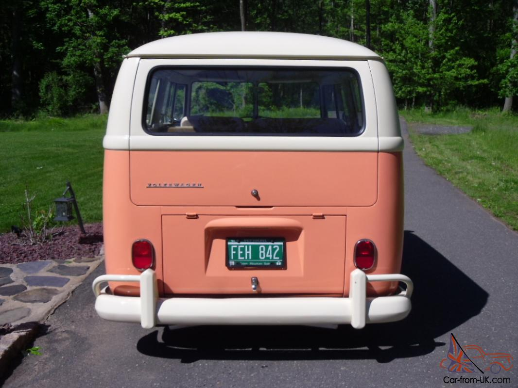 1966 vw bus shorty street rod hot rod show car