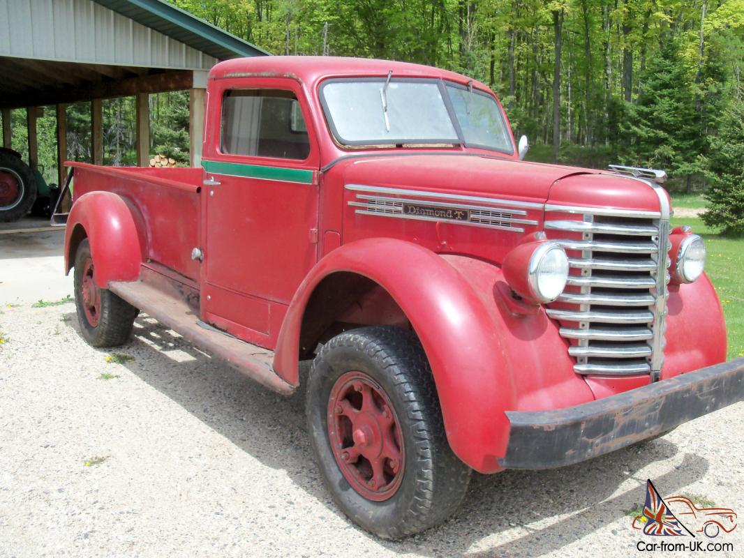 1948 Diamond T 306 Pick Up Truck