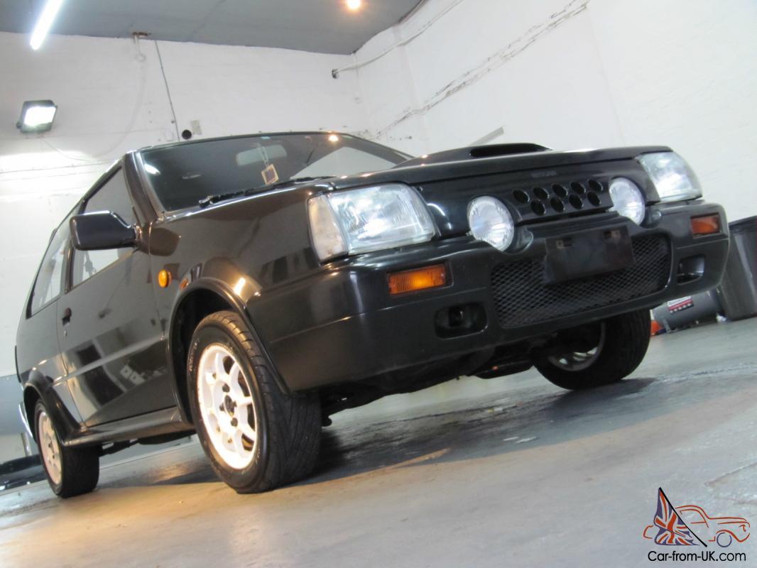 1990 Nissan Datsun Micra March St Super Turbo