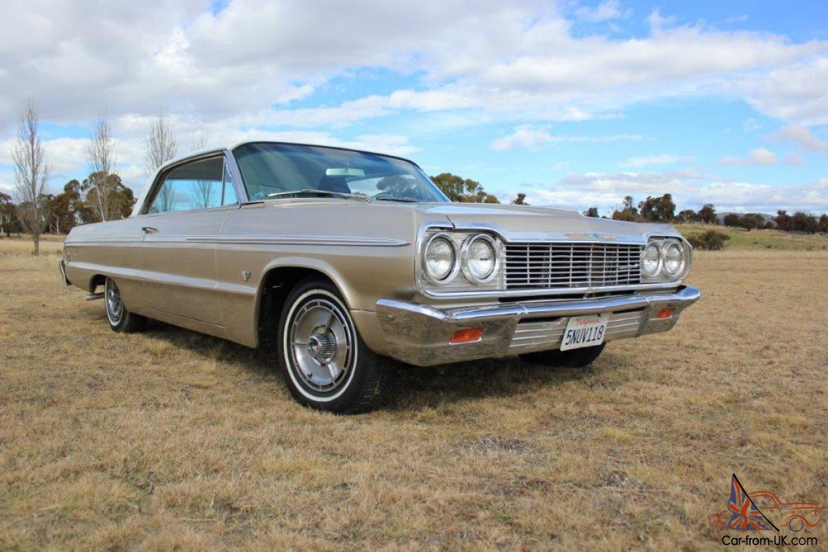 All Chevy 64 chevy ii : 64 Chevy Impala 2 Door SS NSW Registered