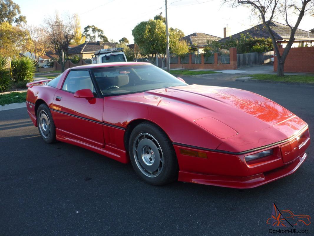 Steve White Vw >> Chevrolet Corvette 1985