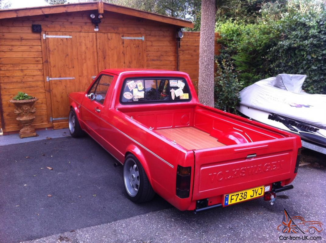 Vw Mk1 Caddy Pick Up