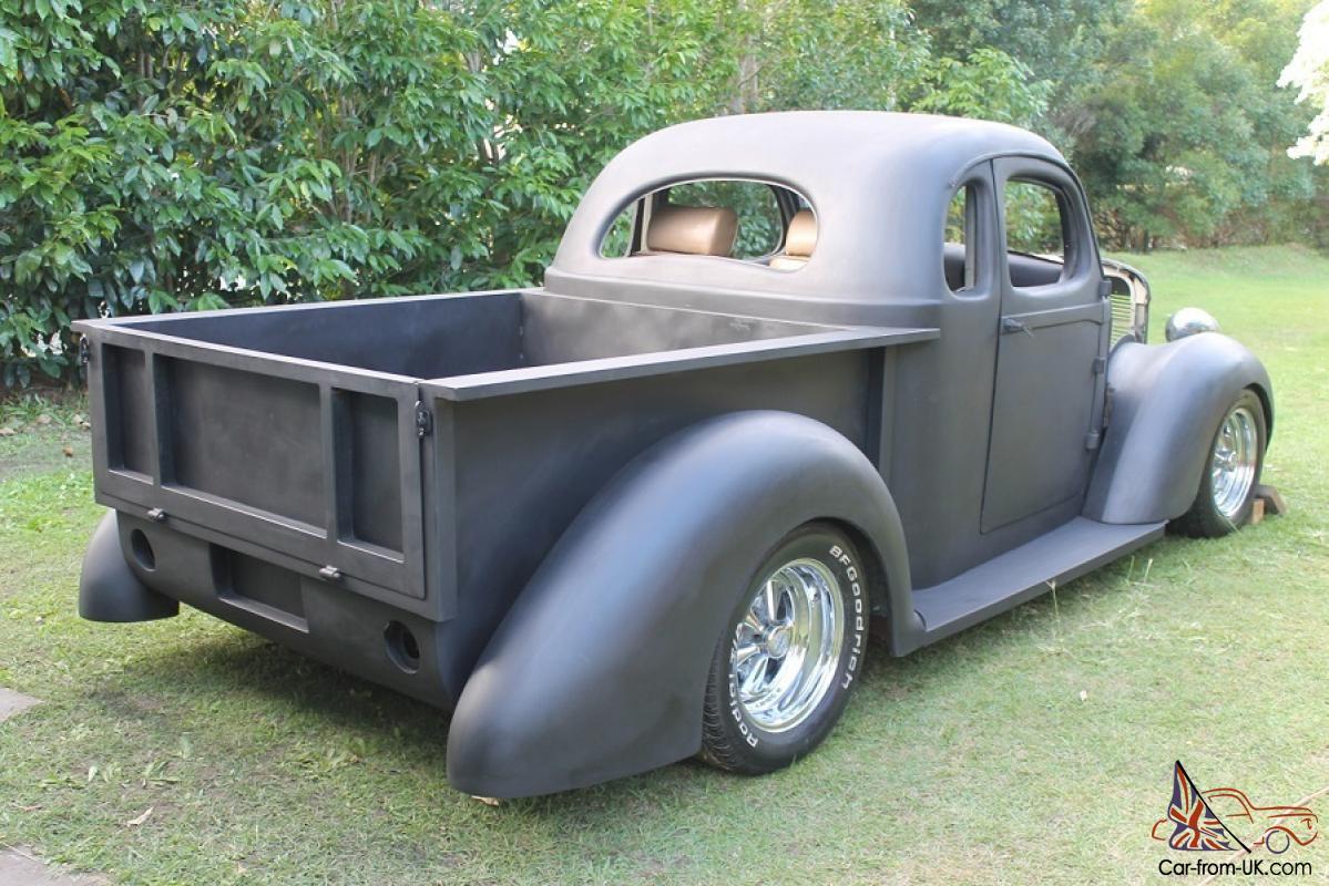 1937 International Coupe UTE Project RAT ROD HOT ROD Pick UP