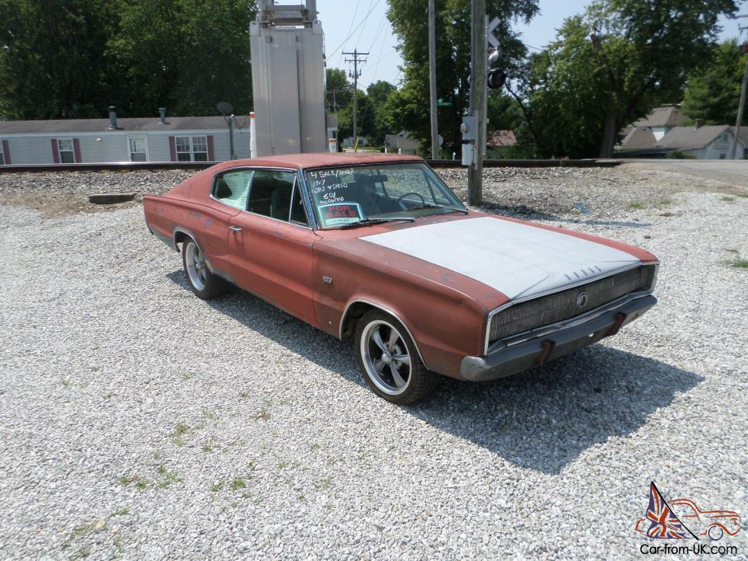 1967 Dodge Charger 383 Hipo 4 Speed Rare Muscle Car