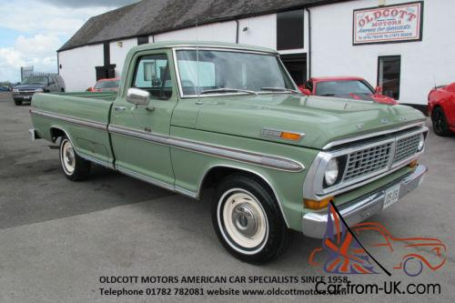 1970 Ford F100 >> 1970 Ford F100 360ci Auto Pickup 37 000 Miles 2 Previous Owners