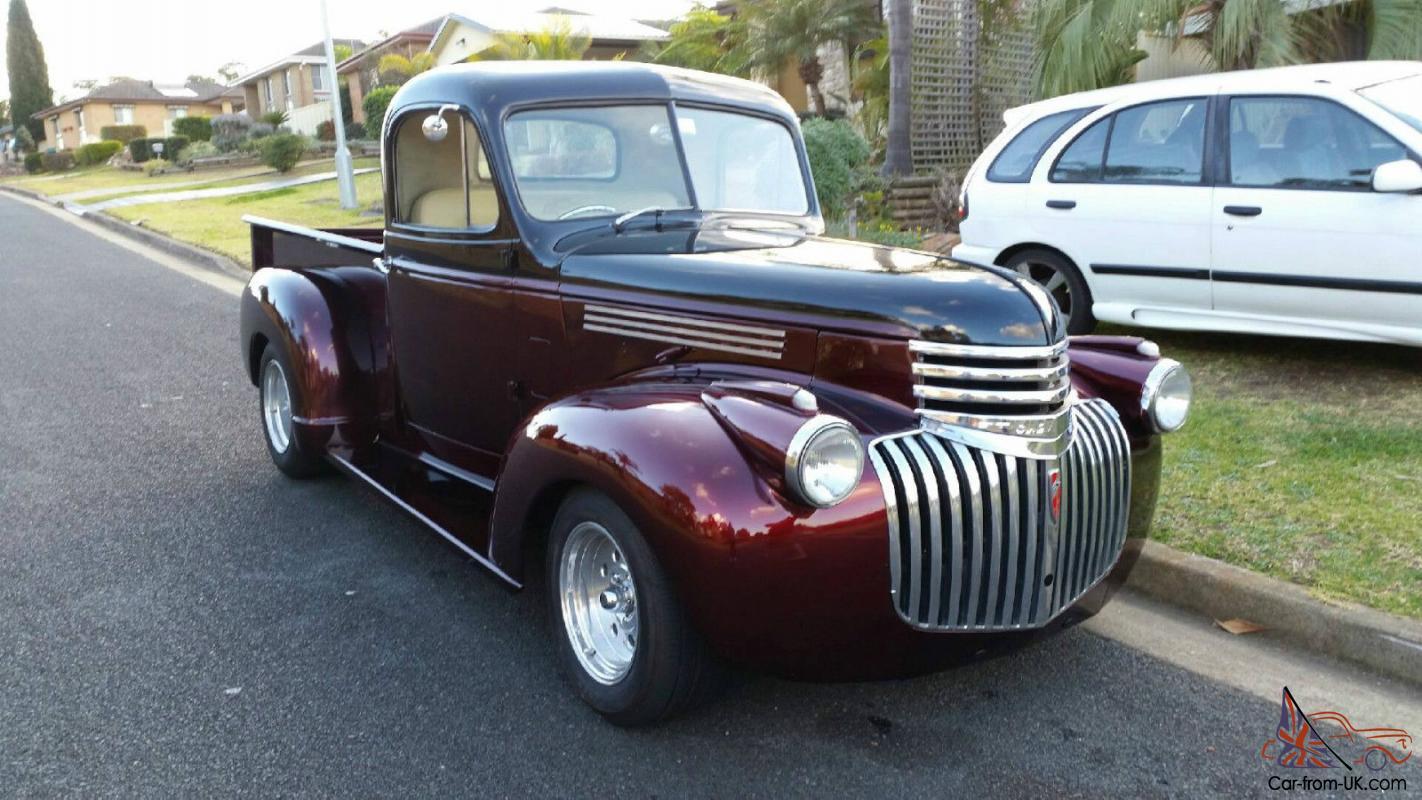 Chevy Truck 1942 In Bradbury Nsw