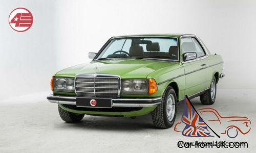 Mercedes-Benz 280CE 123, only 56k miles and ultra rare air-conditioning  option