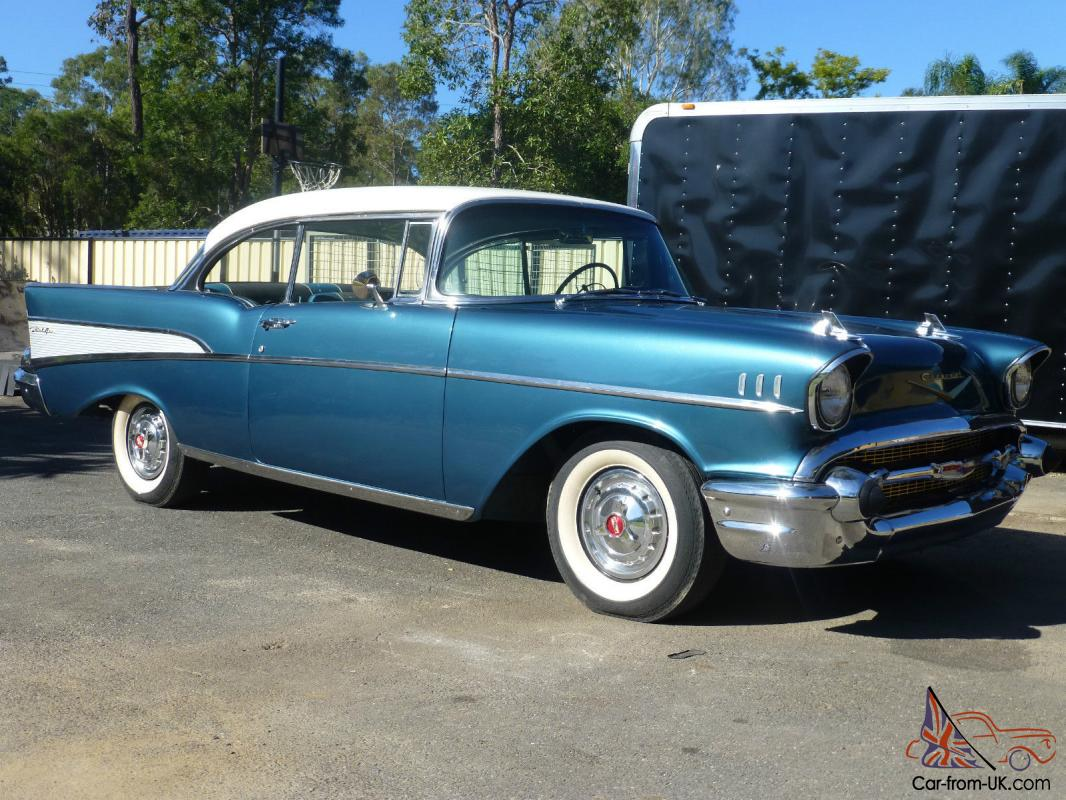 All Chevy 1957 chevy belair 4 door : Belair 1957 2 Door Hard TOP Chevrolet BEL AIR 1957 Chevy in ...