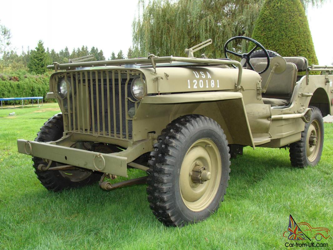 Willys Jeep For Sale >> Willys 1942 Willys Slat Grill Mb Jeep