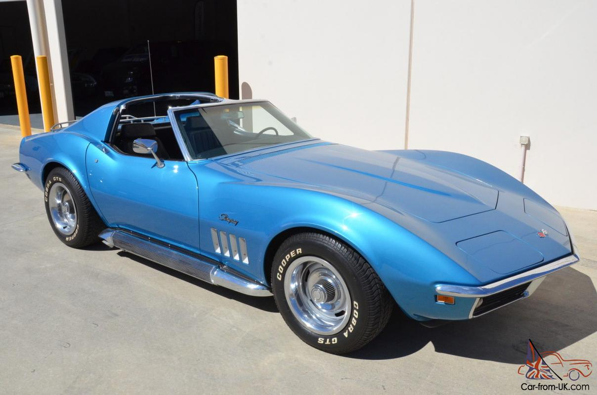Corvette Stingray 1969 >> 1969 Corvette Stingray T Top Coupe