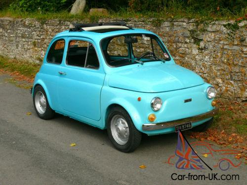 1975 Fiat 500r Imported From Sicily Great Fun To Drive