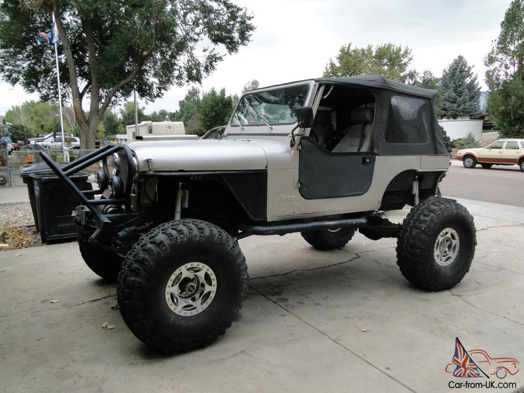 Jeep Rock Crawler >> Jeep Cj Rock Crawler
