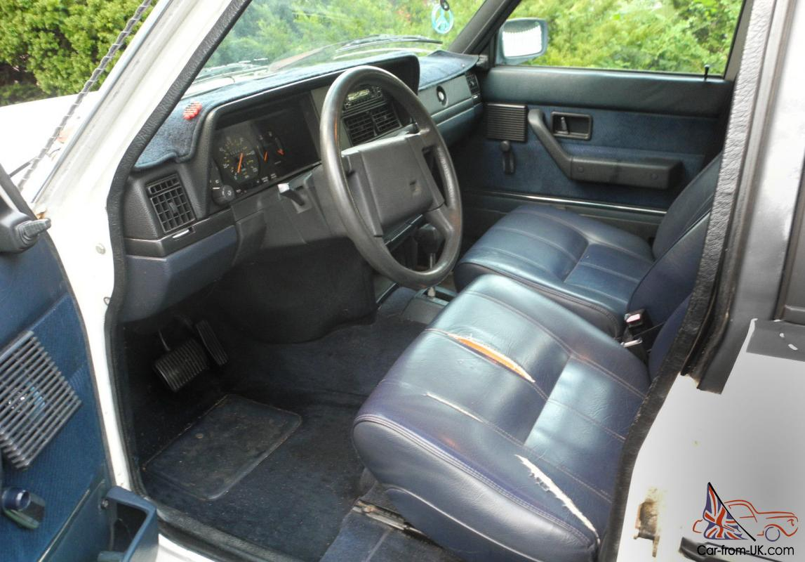 Look Inside This Classic Volvo 240 Wagon No Reserve
