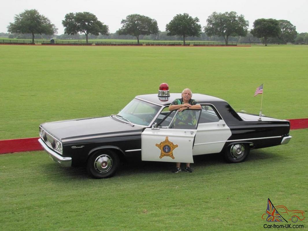 1965 Dodge Coronet Police Award Winning Beauty L K