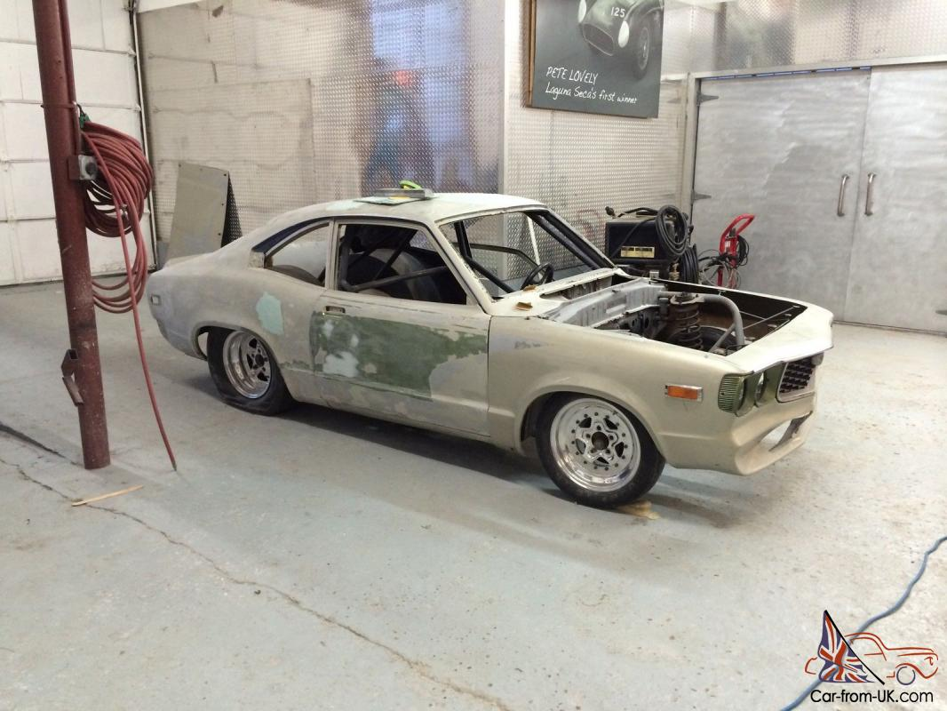 Mazda Rx-3 pro street/drag project full chassis 9