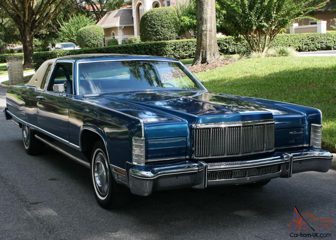 Lincoln Town Car Town Coupe Two Owner 46k Miles